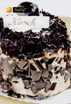 Amarena kirsch schuim gebak - Echte Bakker Nijkamp